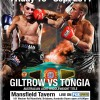 """Upcoming fight – September 16th 2011 – Tyrone """"Cyclone"""" Tongia vs James Giltrow"""