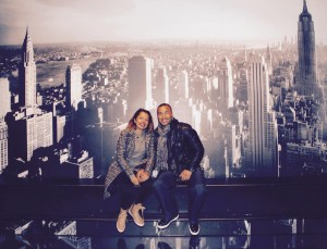 Experienced the view at the Top of the Rock. http://www.topoftherocknyc.com