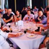 Fellow Coach Cyclone boxing enthusiasts at the Team Jacob Craft Beer Lunch, raising awareness and vital funds for AEIOU.
